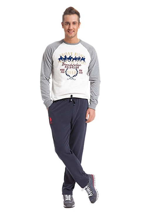 U.S.Polo Assn. Sweatpant Gri